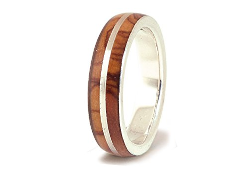 anillo-de-bodas-de-plata-con-madera-de-olivo-anillo-unisex-madera-natural