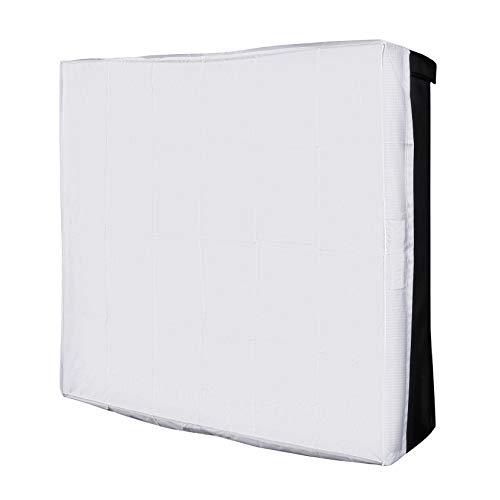Walimex pro Softbox für Flex LED 500 Bi Color - Softbox rechteckig BxHxT: 50x36x10cm, mit Frontdiffusor, für die Walimex pro Flex LED 500 LED Leuchten Serie Strip Light Softbox