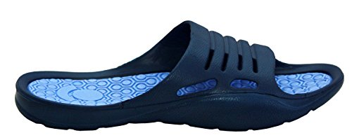 A & H Footwear, Sandali Con Tacco Senza Spalline Da Donna Blu / Blu