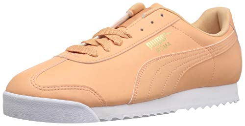 PUMA Men s Roma Basic Sneaker  Dusty Coral White  7 M US
