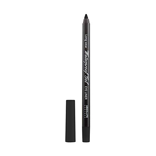 Absolute New York Waterproof Gel Eye Liner–Nero, 1pezzi