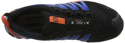 Salomon Herren Xa Pro 3D Gtx Traillaufschuhe Mehrfarbig (Black/flame/nautical Blue)