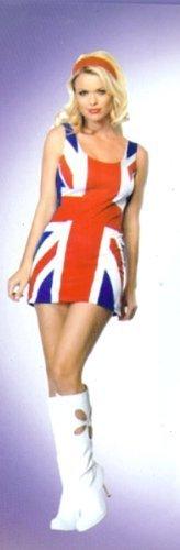 Britische Flagge Kleid - einheitsgröße