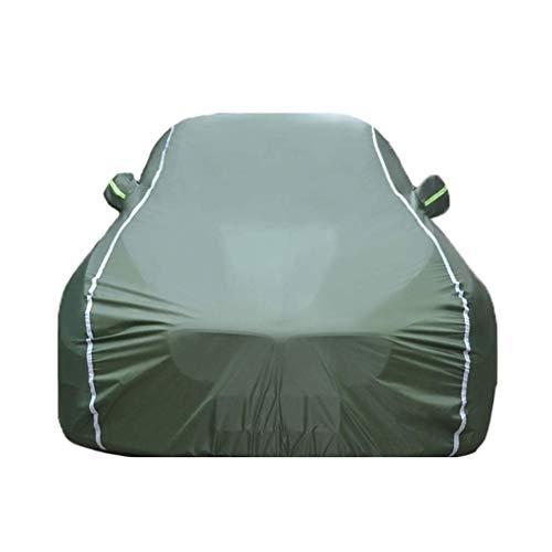 WSJCar Covers Four Seasons Universal Wasserdicht UV Atmungsaktiv Staubdicht Schutz Outdoor Schutz Kompatibel Mit Citroen C4 Car Cover Jacken Schutzkleidung (Farbe: Grün)