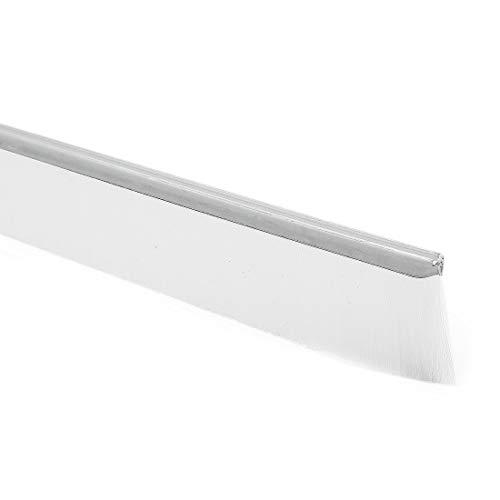 40-Zoll x 1-Zoll Tür Boden Fegen Nylon Pinsel Einsatz Siegel weiß DE -
