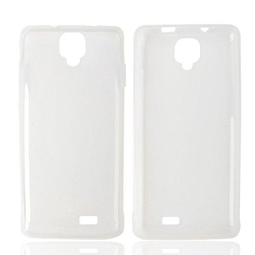 Guran® Weiche Silikon Hülle Cover für Oukitel K4000 Pro Smartphone Bumper Case Schutzhülle-Transparent weiß