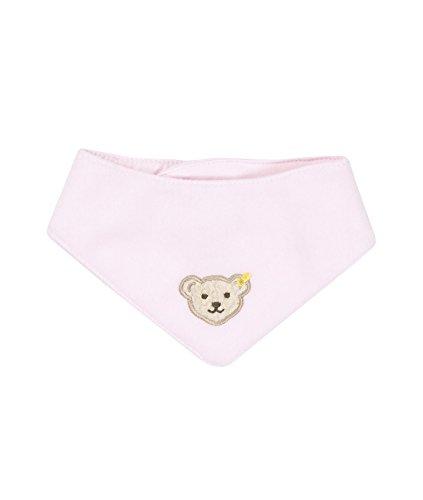 Steiff Unisex - Baby Halstuch 0006854 Nickytuch Länge 32,5 Cm, Einfarbig, Gr. 32 (Herstellergröße: I), Rosa (Barely Pink 2560)