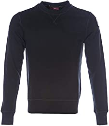 Parajumpers Caleb Basic Sweat Top in Black