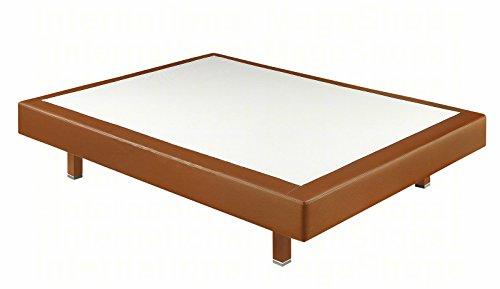 Boxspringsysteme starr Pikolin Kunstleder 3d – Versand kostenlos und erhältlich in allen Maßnahmen x cm (90x190, Kirsche)