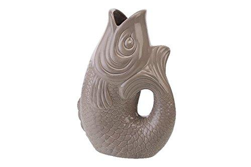 Gift Company - Monsieur Carafon - Vase - Blumenvase - L - Sandstone - 2,7 Liter - 21x12,2x30,7cm -