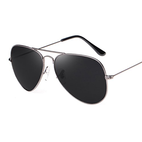 Ppy778 Männer und Frauen Klassische Metall Designer Sonnenbrillen, Klassische Aviator polarisierte Pilot uv400 Schutz Fahren Sonnenbrille mit Premium metallrahmen (Color : 5)