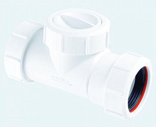 McAlpine T28M-NRV Multifit In-Line Rückschlagventil, weiß