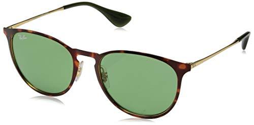 Ray-Ban Erika Metal Cateye Sunglasses, Havana, 57.0 mm
