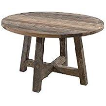Amazon.fr : Table ronde teck