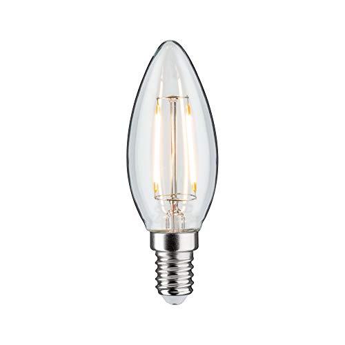 Paulmann 28494 LED Retro-Kerze Vintage Leuchtmittel 4,5Watt Kerzenlampe dimmbar Glühfaden...