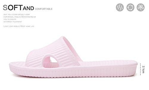 Slip On pantofole antiscivolo doccia sandali House Mule Pool suola morbida schiume bagno scorrevole per adulti Purple