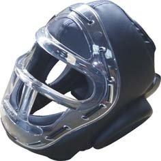 Krav Maga Optisch Head Guard Kampfsport Helm Training Voll Gesichtsmaske Abbildung 2