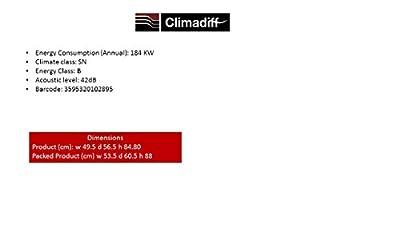 Climadiff CLS52 52-Bottle Single Zone Wine Cooler by La Sommeliere