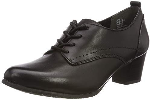 Jana 100% comfort Damen 8-8-23300-22 Derbys, Schwarz (Black 001), 42 EU