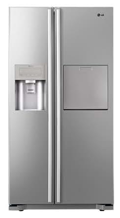 LG GS5162PVLZ Side-by-Side / A++ / Kühlen: 354 L / Gefrieren: 173 L / Premium Platinum / Eis-, Crushed Ice- und Wasserspender / Fresh O Zone