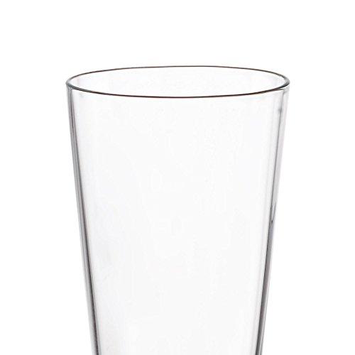 "6 x Schnapsglas, Likörglas ""AUE"" 4 cl, H=12 cm, Glas im modernem Style (FAN UNIKATE powered by CRISTALICA) - 3"