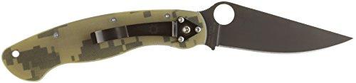 Spyderco Taschenmesser Military Camo Blade, braun, 01SP600 - Taschenmesser Camo