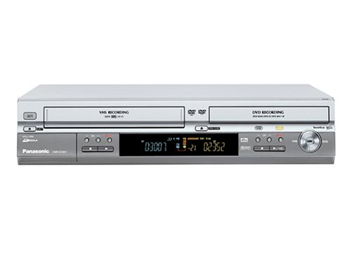 Panasonic DMR-ES 30 VEG-S DVD- und Video-Rekorder-Kombination silber