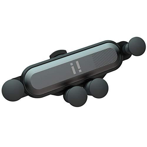 "i! Anti Gravity Kfz Autohalterung Universal Lüftungshalterung 360 Grad drehbar kompatibel mit 4,7"" - 6,5"" Smartphone, Handy, iPhone XS Max XR 8 7 6 S Plus, Samsung Galaxy S10 S9 S8 usw."