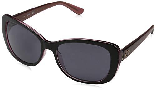 Guess Unisex-Erwachsene GU7475 05A 56 Sonnenbrille, Schwarz (Nero),
