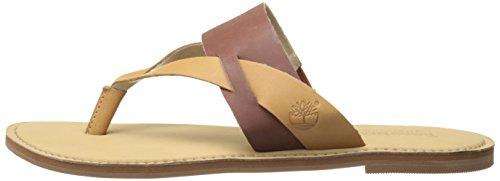 Timberland Women s EK Sheafe Thong Gladiator Sandal  Light Brown Dry Gulch Tan  6 M US