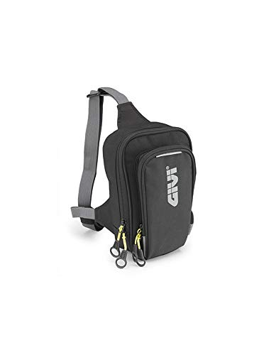 GIVI EA113B Easy Bag Bolsillo de Pierna Urban, Color Negro, Volumen 2...