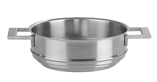 Cristel-CVU24SF-Cuit-vapeur universel inox 24cm - Collection Strate