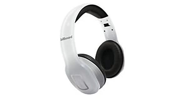 Billboard Wireless Bluetooth Headphones White: Amazon in