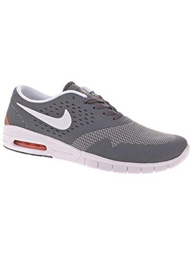 Nike Eric Koston 2 Max, Scarpe da Skateboard Uomo Grigio (cool grey/white/total ora/gris)