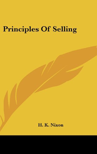 Principles of Selling