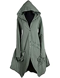 Damen Lagenlook Kapuze Mantel Swinger Trench Coat 42 44 46 48 50 M L XL XXL  Wintermantel Übergang… 17623d0a81