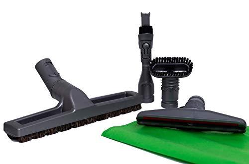 Green Label Kit di Accessori per gli Aspirapolvere Dyson Spazzola con Setole Crine di Cavallo Spazzola Materassi Spazzola per lo Sporco Difficile