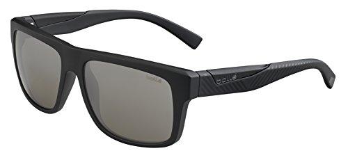 bollé Sonnenbrille Clint 12215Sonnenbrille, Matte Black/Shiny, L
