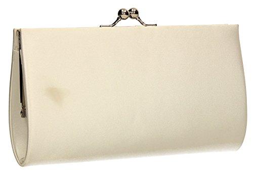 SwankySwans, Poschette giorno donna Taglia unica Ivory