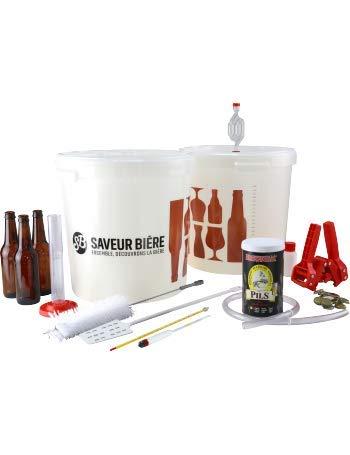 Saveur Bière - Kit de Brassage Complet (avec Kit embouteillage)...