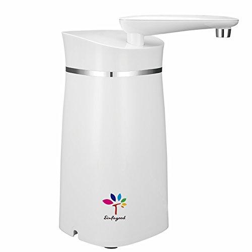EINFAGOOD Auftisch Wasserfilter, Wasserfilter, entfernt 99{5e3a6b86e0919ed3eddfdc29d91181d058af540033edc7144fafcf230c0ac101} Chlor und Bakterien vom Leitungswasser, verbessert deutlich den Geschmack vom Trinkwasser, Filterleistung 4000 Liter