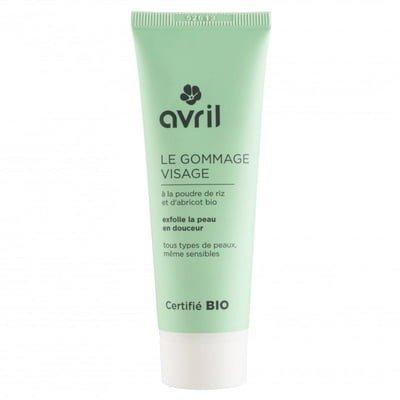 AVRIL - Gommage Visage Bio - Affine le grain de peau en douceur - Convient à tous les types de peau - Élimine les impuretés - Pour une sensation de peau douce - 50 ml