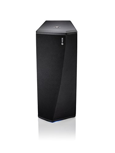 Denon HEOS Subwoofer (Wireless Subwoofer, Dual 14 cm Woofer, Class D-Verstärker, Amazon Music) schwarz Sub-amp-box
