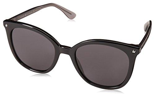 Tommy hilfiger th 1550/s, occhiali da sole donna, black, 53