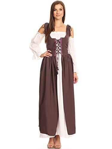 issance Mittelalter Kostüm Magd Bäuerin Celia Kleid ()