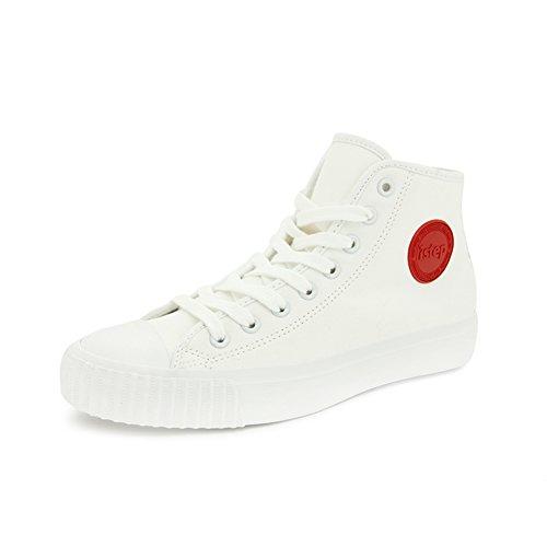Haut-dessus des chaussures de toile d'été et d'automne/Chaussures de sport étudiant/Chaussures de fond plat A
