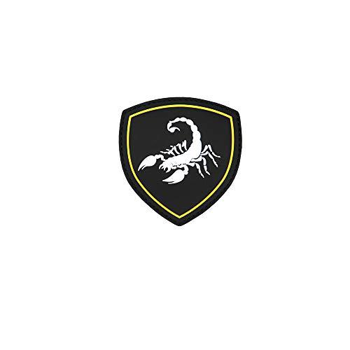 Copytec 3D Rubber Russischer Skorpion Patch Russland Putin Armee CCCP 7 x 7 cm #26903 (Russische Armee Patch)