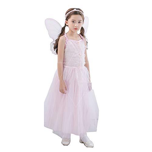 Halloween Kostüm Prinzessin Kleid Mädchen Elf Flower Fairy Kinderkleidung Kinder Pettiskirt Hochzeitskleid Show ()