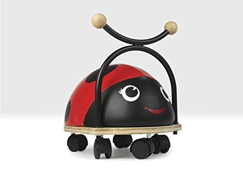 Beehive Toys Ladybird Ride on Toy with Wheels for 1 to 3 year olds