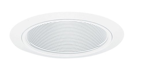 Wh Open-trim (Juno Lighting 205W-WH 5-Inch Downlight Baffle, White with White Trim by Juno Lighting Group)